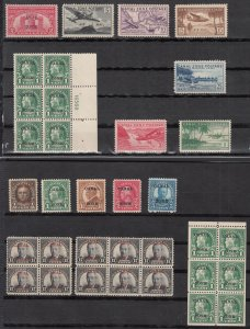 Canal Zone C15-20 NH, All other stamps shown are free!