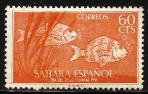 Spanish Sahara 1953 Scott# 71 MH