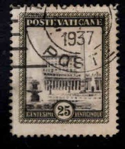 VATICAN Scott 23 Used stamp