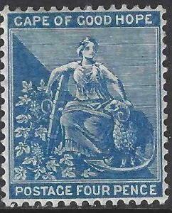 Cape of Good Hope 1876 SC 27 MLH SCV $210.00
