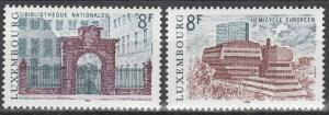 Luxembourg #655-6 MNH  (S3084)