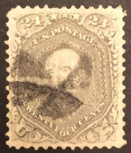 TangStamps US Stamp #78 Used Well Centered