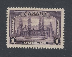 Canada MNH Stamp; #245-$1.00 Chateau MNH VF Guide Value = $150.00