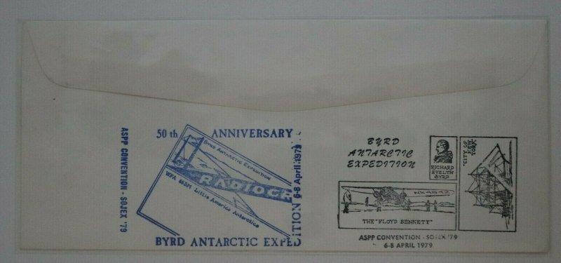Society Polar Phialtelists SOJEX Byrd Arctic Expedition 1979 club group signed
