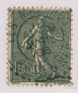 FRANCE - 1906 - CàD FACTEUR-BOÎTIER T.1884  LES MAZURES / ARDENNES  sur n°130