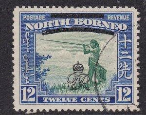 NORTH BORNEO ^^^^1938  .Yvert  #249    used   KEY   $$@ sc153nobo