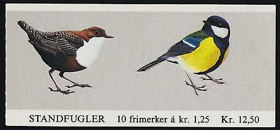 Norway 762a Booklet MNH Birds