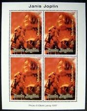 Montserrat #926 ms of 4, F-VF Mint NH ** Janis Joplin