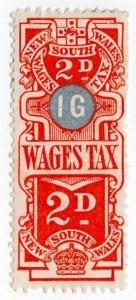 (I.B) Australia - NSW Revenue : Wages Tax 2d