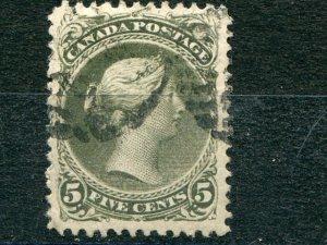 Canada #26iv  11 3/4x12  VF   Used   Lakeshore Philatelics