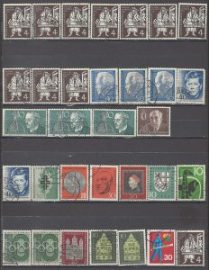 COLLECTION LOT OF #1225 GERMANY 32 STAMPS 1954+ CLEARANCE