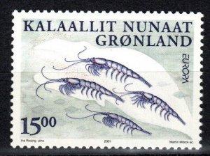 Greenland #386  MNH CV $4.75 (V5213)