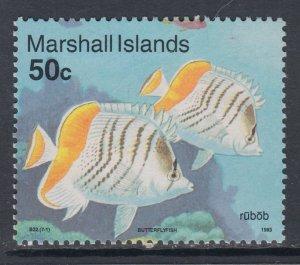 Marshall Islands 434 Fish MNH VF