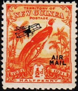 Papua New Guinea. 1931 1/2d S.G.163 Unmounted Mint