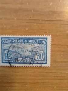 St Pierre & Miquelon SC 98 used