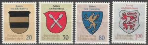 Liechtenstein #396-9  MNH  (S9043)