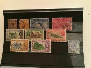 British Honduras  stamps R22589