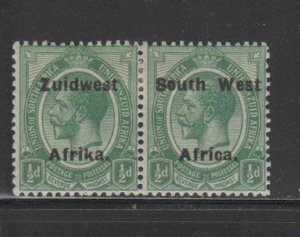 SOUTH WEST AFRICA #29  1924  1/2p  KING GEORGE V    MINT VF LH O.G