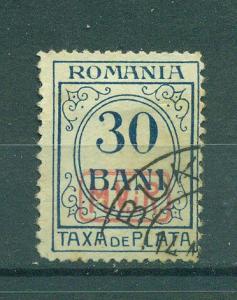 Romania sc# 3NJ6 used cat value $2.75