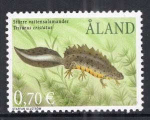 Aland 198 Salamander MNH VF