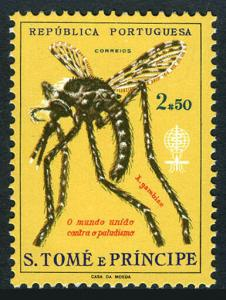 St Thomas & Prince Islands 380, MNH. WHO drive to eradicate malaria, 1962