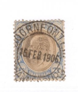 Transvaal #271 Used - Stamp CAT VALUE $14.00