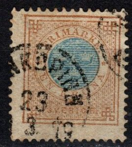 Sweden #38  F-VF Used CV $20.00 (X5357)
