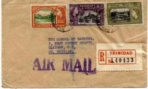 Trinidad 8c QEII Queen's Park, Savannah, 12c QEII Town Hall, San Fernando and...