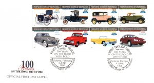 Micronesia, Worldwide First Day Cover, Automobiles
