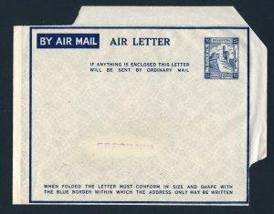 PALESTINE Aerogramme Air Letter Postal Stationary Unused Specimen