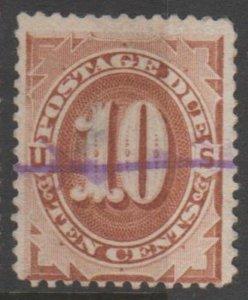 U.S. Scott #J5 Postage Due Stamp - Used Single - IND