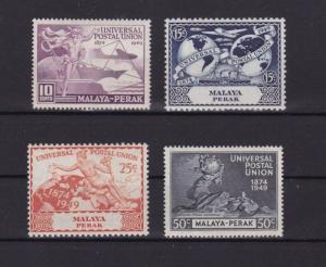 MALAYA PERAK 1949 U.P.U STAMPS SET MINT NEVER HINGED    R3681