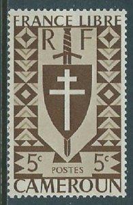 Cameroun, Sc #282, 5c, MH