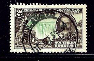 Southern Rhodesia 34 Used 1935 KGV Silver Jubilee  (ap1071)
