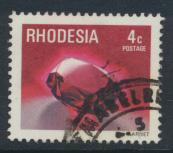 Rhodesia   SG 557 SC# 395  Used Gemstones Garnet  see details