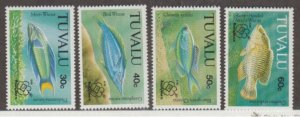 Tuvalu Scott #629-632 Stamps - Mint NH Set