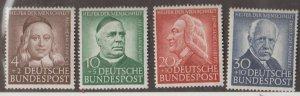 Germany Scott #B334-B337 Stamps - Mint Set