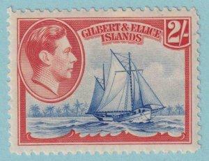 GILBERT & ELLICE ISLANDS 49  MINT HINGED OG * NO FAULTS VERY FINE!