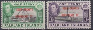 Falkland Is #4L1-2 MNH F-VF  (B215)