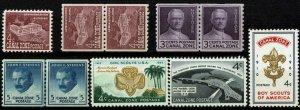 CANAL ZONE #152-57 1960 4c REGULAR ISSUES-MINT-OG/VLH--VF