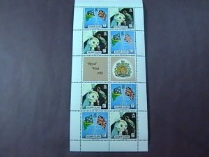 SOLOMON ISLANDS # 478-479-MINT/NEVER HINGED----MINI-SHEET OF EIGHT------1982