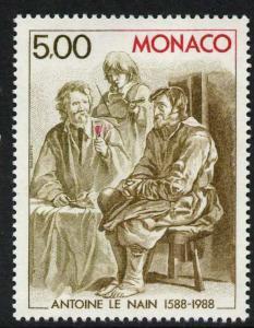 Monaco 1646 MNH Art, Le Nain & Brothers