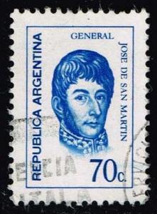 Argentina #936 Jose de San Martin; Used (0.25)