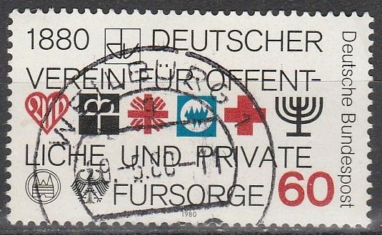 Germany #1326  F-VF Used  (S3713)