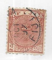 Fiji #57a   2 1/2p  Crown (U) CV $5.50
