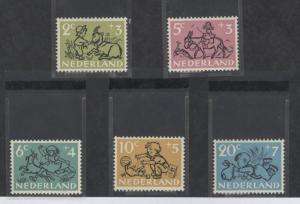 Netherlands B243-B247 Mint VF NH