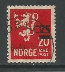 Norway   #302  Used  (1949)
