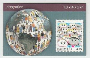 Denmark Sc 1361 Intact Booklet. 2006 EUROPA, VF