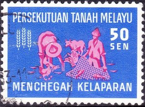 MALAYSIA 1967 50c Freedom From Hunger SG34 Fine Used
