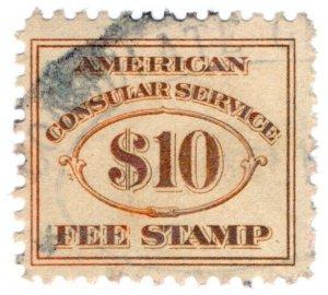 (I.B) US Revenue : Consular Service $10